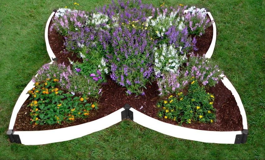 Садовые ограждения для клумб и грядок своими руками фото 58