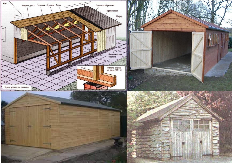 постройка гаража дешево