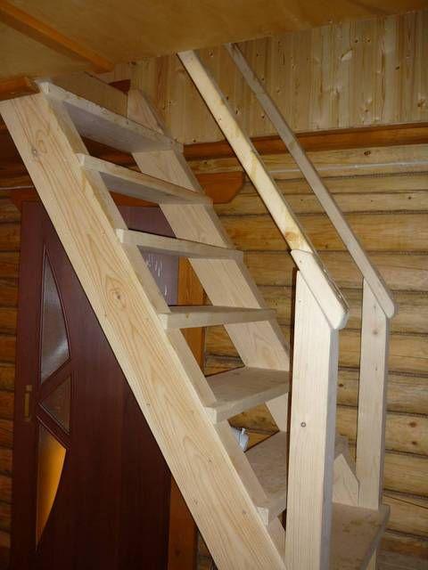 Домашние лестницы на второй этаж своими руками 45